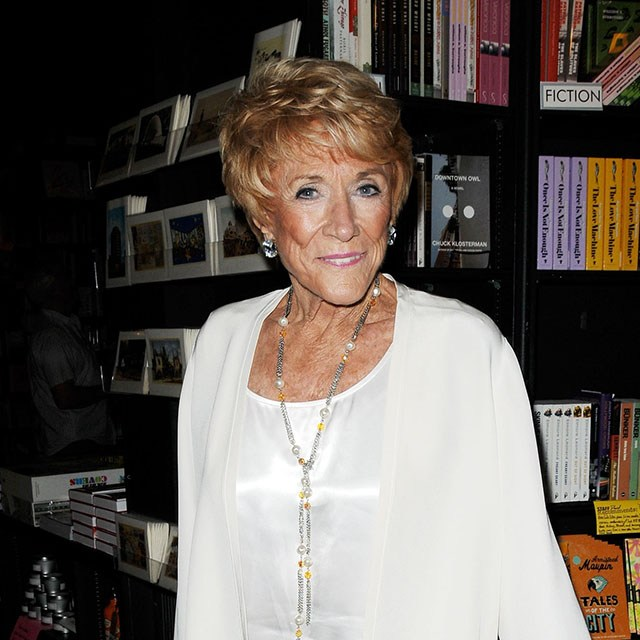 Jeanne Cooper Signing Her New Autobiography Not Young, Still Restless young and restless