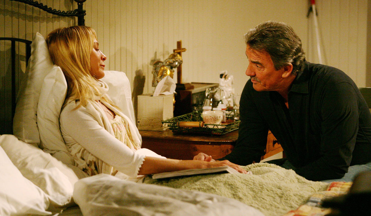 victor visits hope in Kansas young and restless