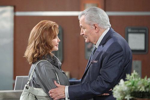 "Suzanne Rogers (Maggie Horton ""Days of our Lives"") and John Aniston (Victor Kiriakis), Howard Wise/JPI"