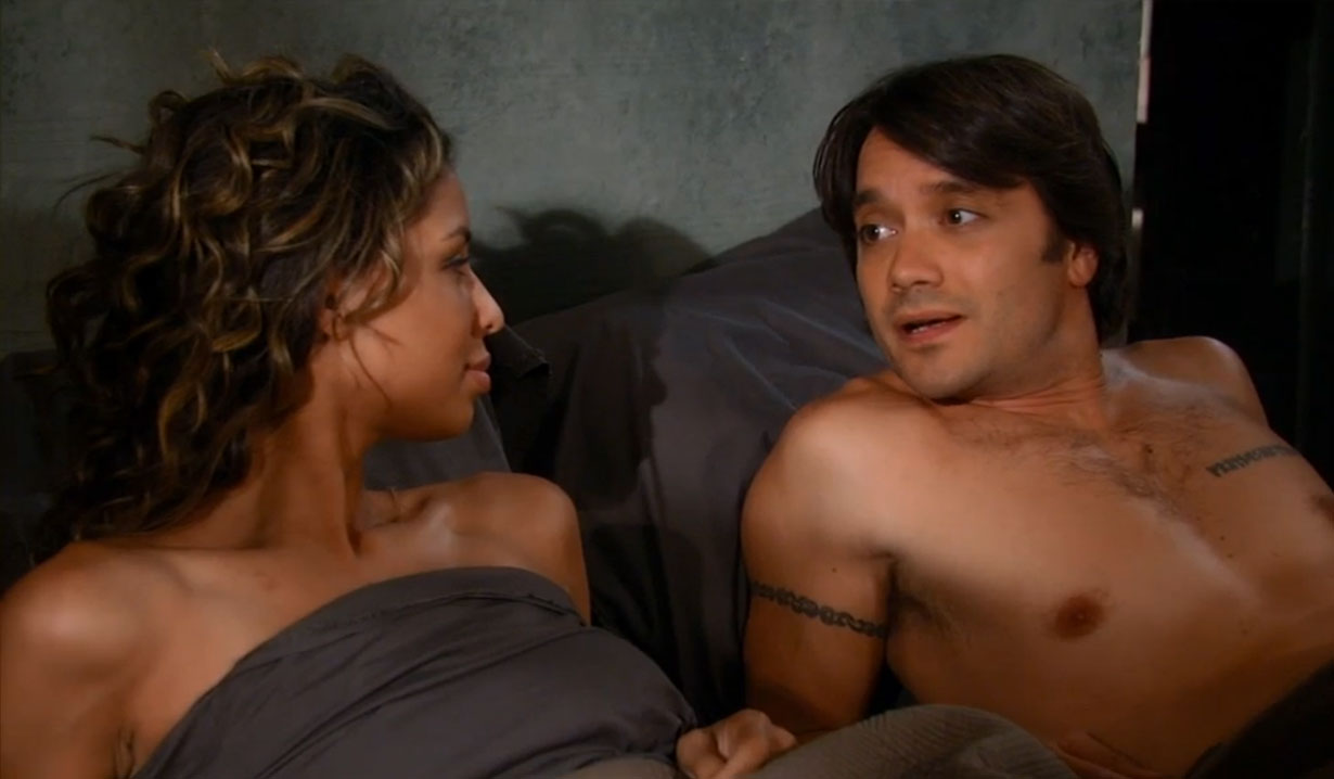 Dante Falconeri sleeps with Valerie Spencer on General Hospital