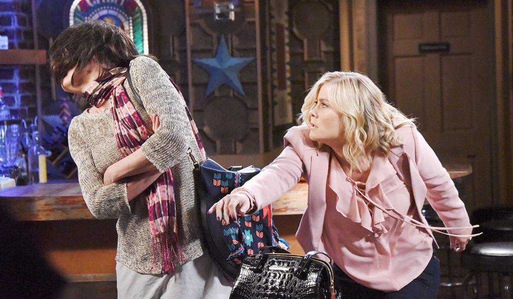 Susan and Sami fight