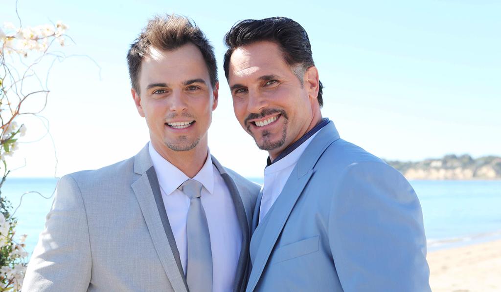 Bill, Wyatt wedding Malibu Bold and Beautiful
