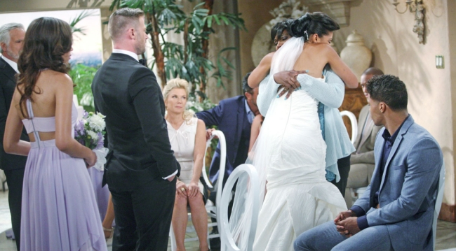 Maya and Rick's B&B Wedding