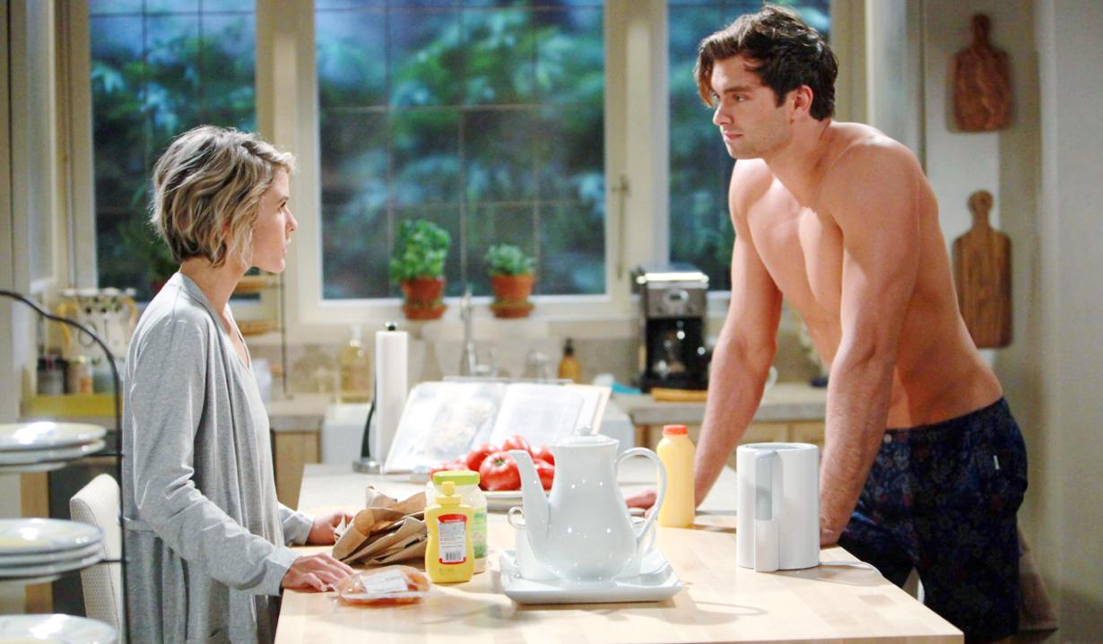 Thomas and Caroline on B&B