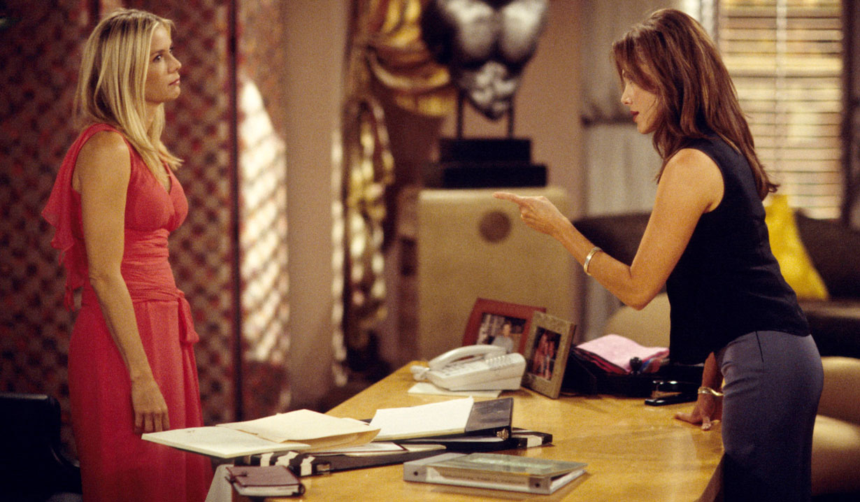 brooke and taylor argue at forrester creations bold and beautiful