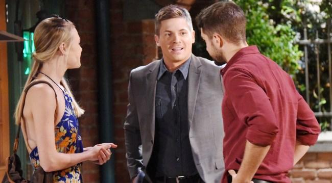 Dillon with Morgan and Kiki on GH