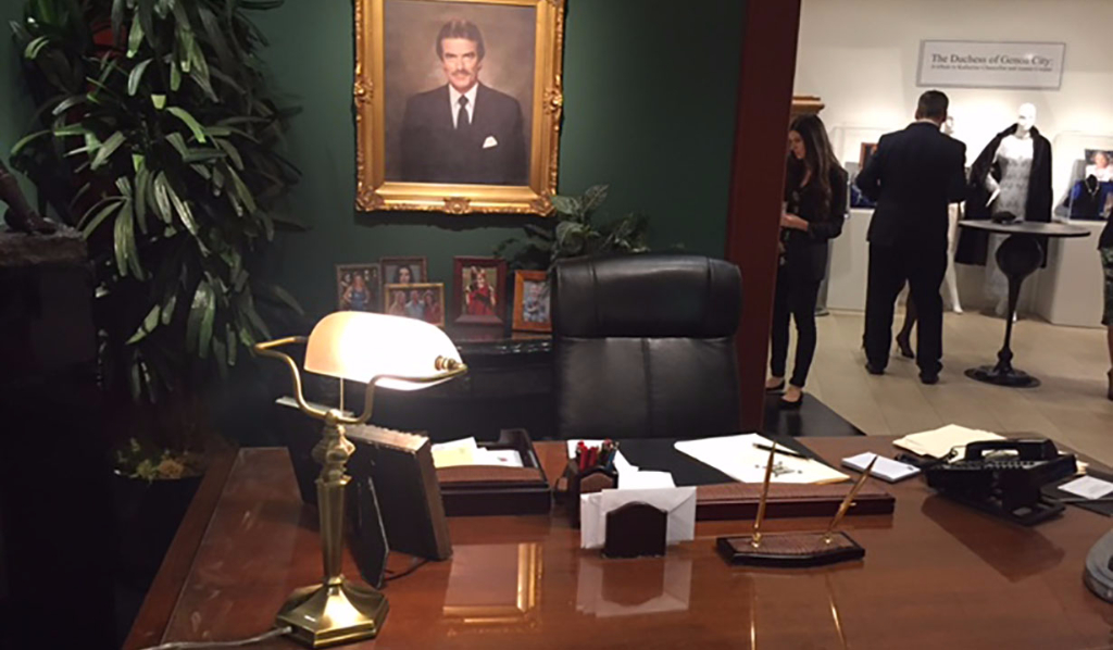 Victor Newman's office on Y&R