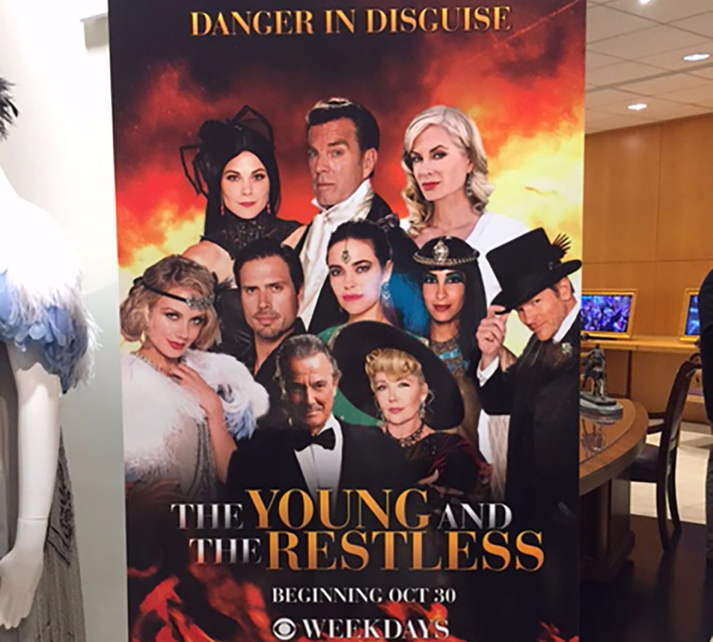 Past Halloween banner for Y&R