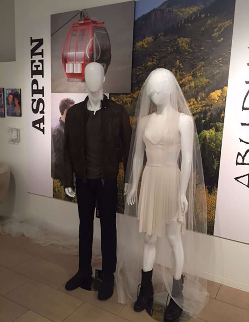 Aspen - Steffy and Liam's wedding costumes