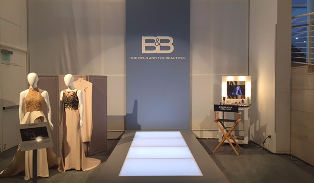 Bold and Beautiful runway dresses