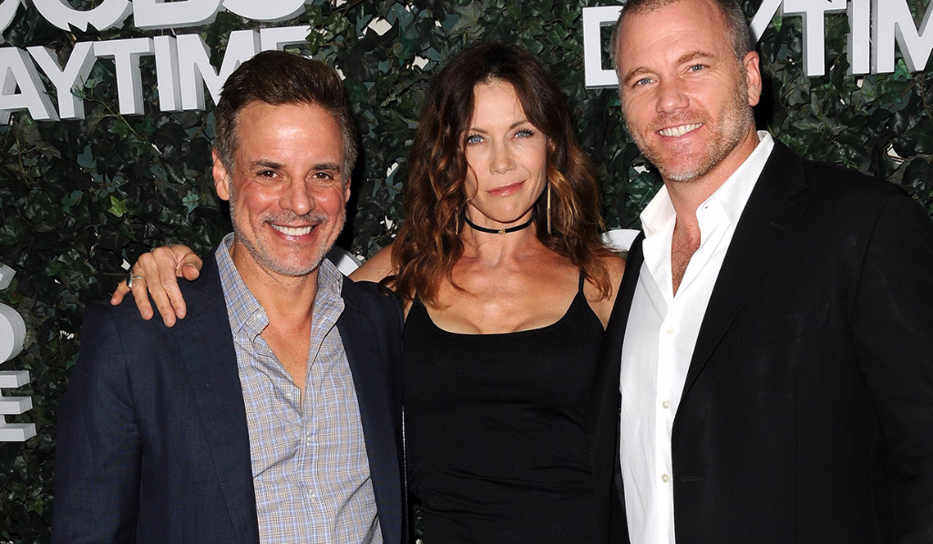 Christian, Stacy and Sean Y&R actors