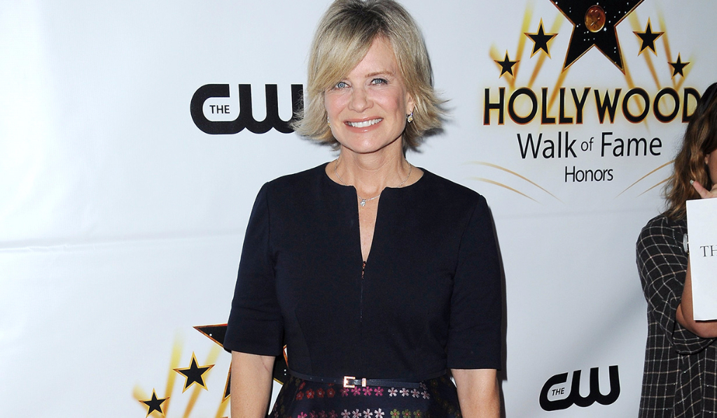 Mary Beth Evans at Hollywood Walk of Fame Honors event