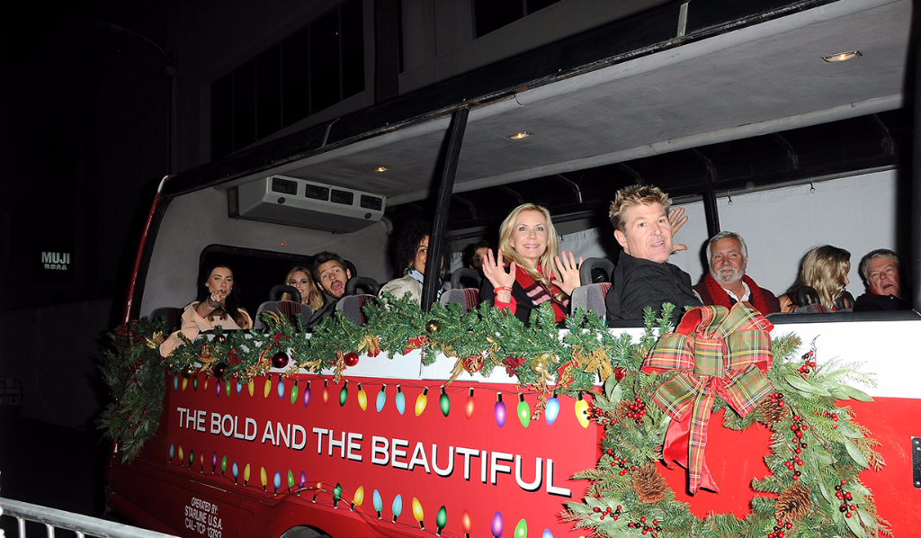 Y&R and B&B cast at the 85th Hollywood Christmas Parade