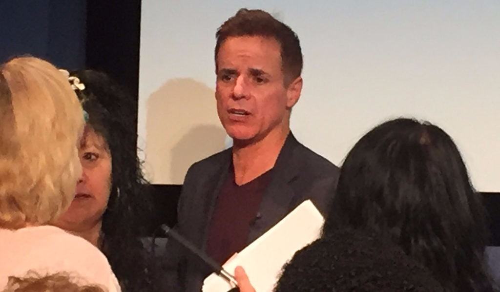 Christian LeBlanc at Paley Center