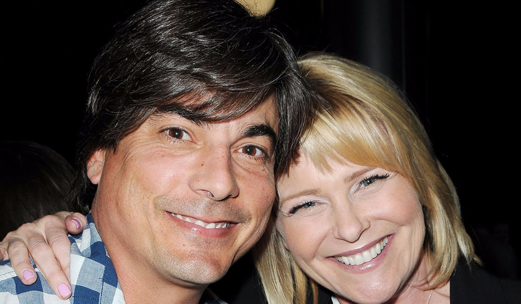 Bryan Dattilo and Judi Evans