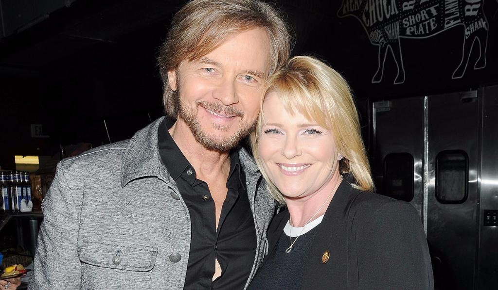 Stephen Nichols and Judi Evans
