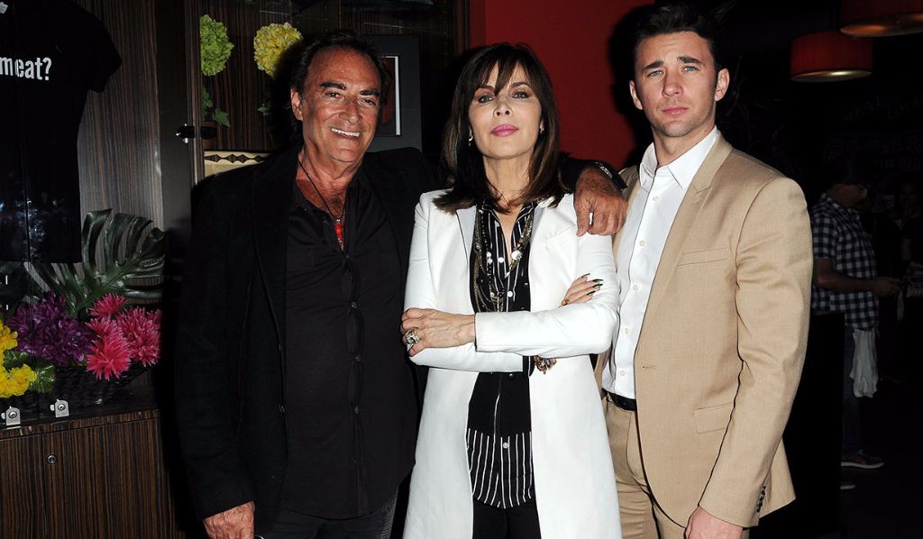 Lauren Koslow, Thaao Penghlis and Billy Flynn