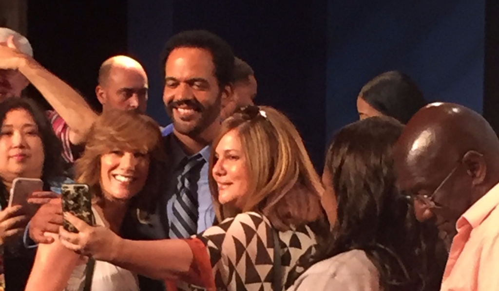 Kristoff St. John at Paley Center