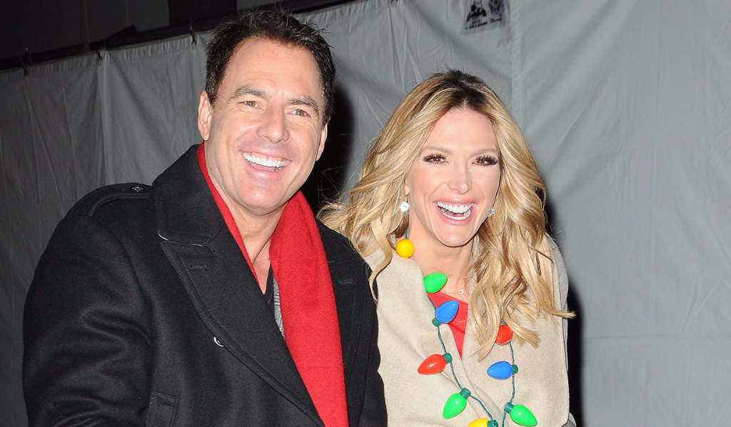 Mark Stein and Debbie Matenopoulos at the 85th Hollywood Christmas Parade