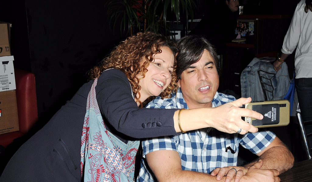 Meredith Scott Lynn and Bryan Dattilo