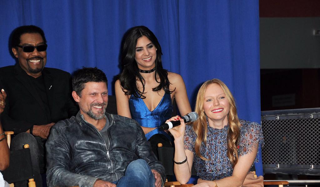 Greg Vaughan, Camila Banus and Marci Miller