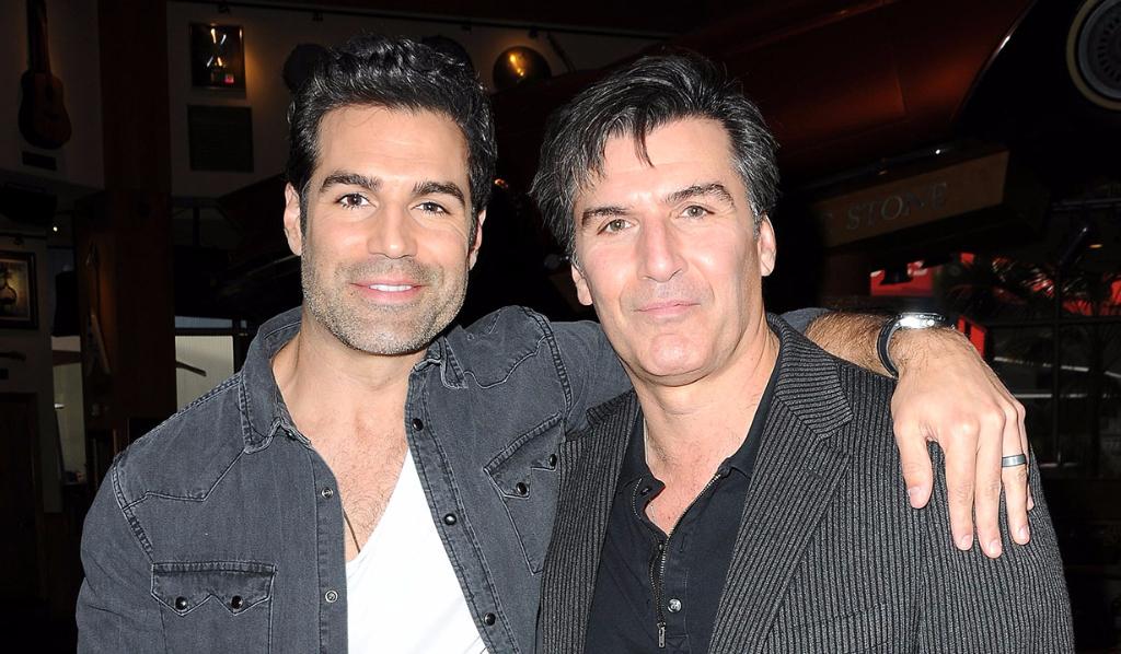 Jordi Vilasuso and Vincent Irizarry