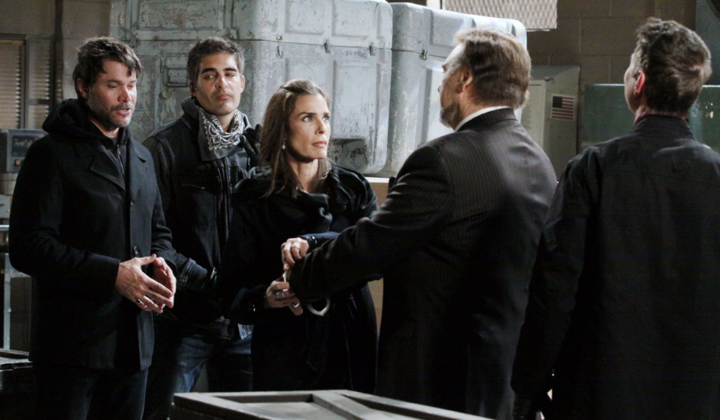 Bo, Rafe, Hope and Stefano