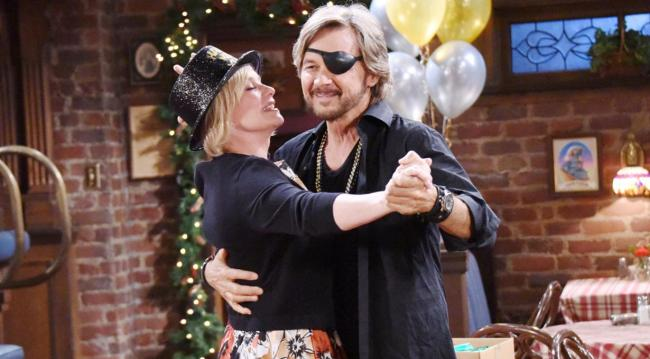 Steve and Kayla dancing Days of our lives