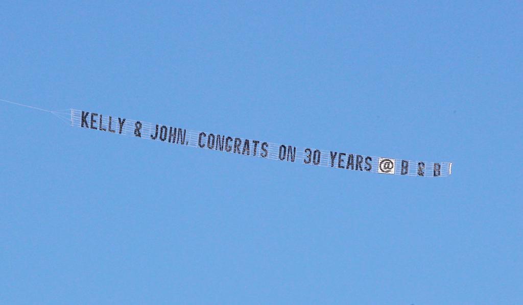 John McCook, Katherine Kelly Lang 30 years on B&B banner