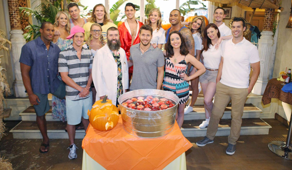 Big Brother contestants with B&B cast