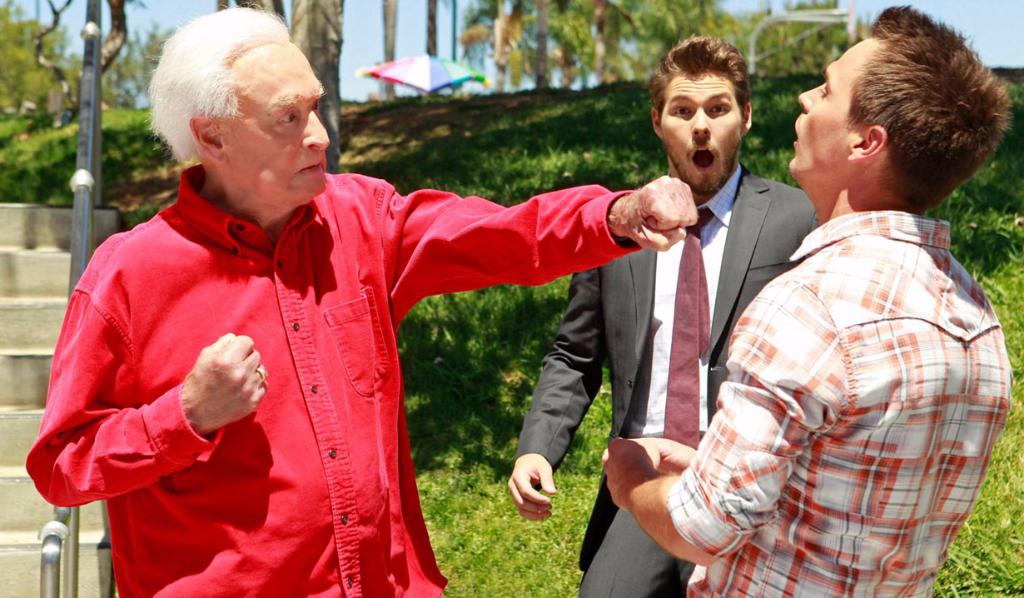Bob Barker, Liam and Wyatt