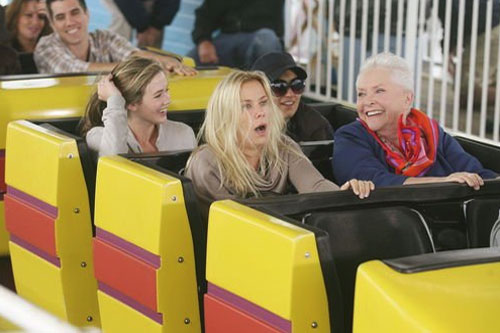 Brooke rides along during Stephanie's bucket list.