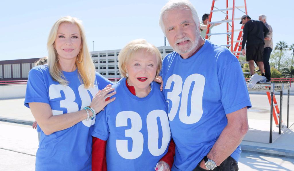 Katherine Kelly Lang, Lee Bell, John McCook, B&B 30 years