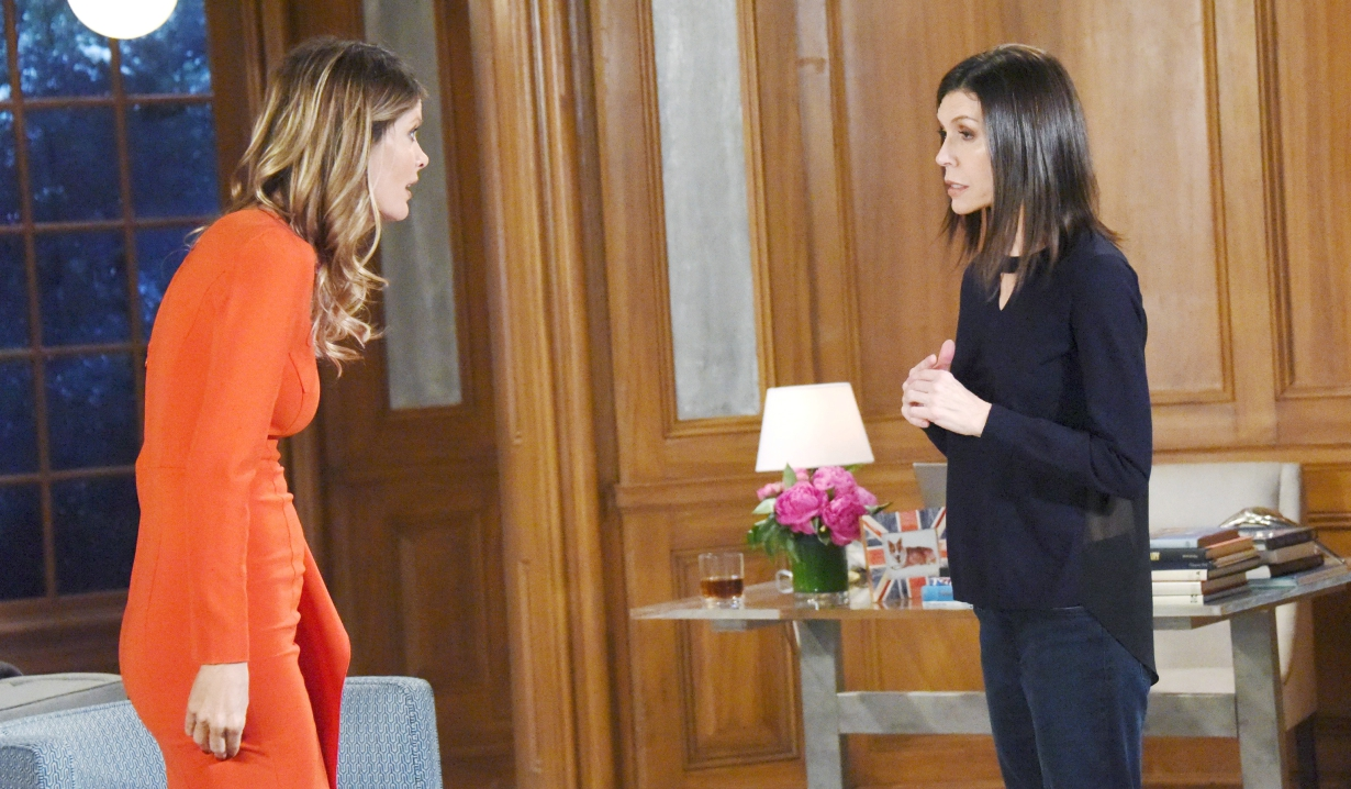 Nina confronts Anna at home General Hospital