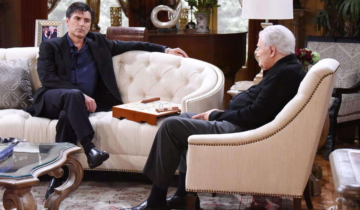 Victor warns Deimos on Days of our Lives