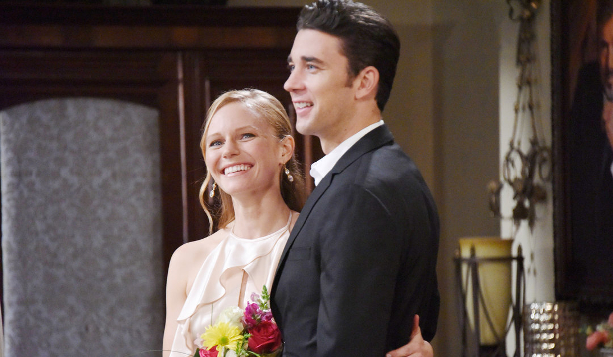 Chad and Abby prepare to say their vows on Days of Our Lives