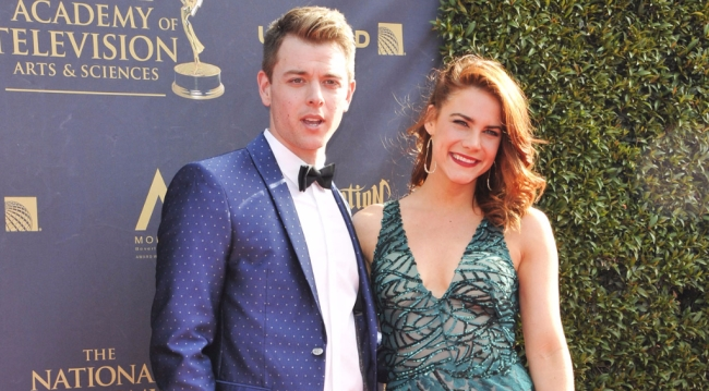 GH's Chad Duell, B&B's Courtney Hope