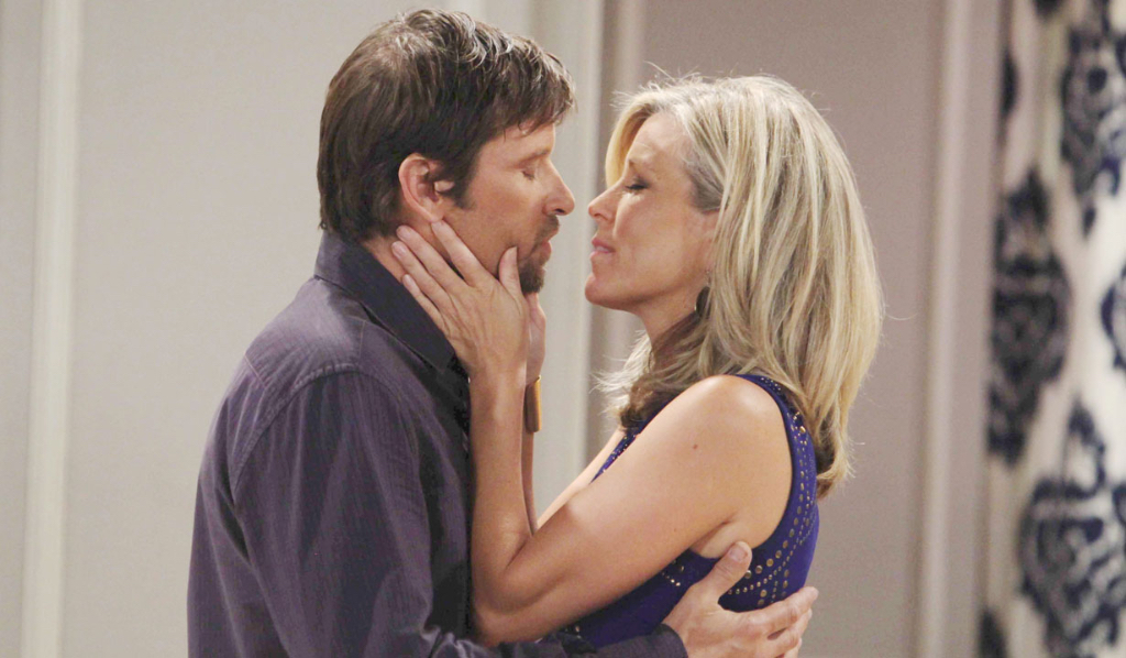 Franco and Carly Corinthos (Laura Wright) (Howard Wise/JPI)