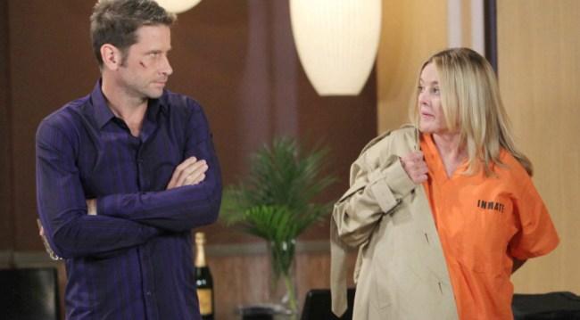 Franco and Heather Webber (Robin Mattson) (Howard Wise/JPI)