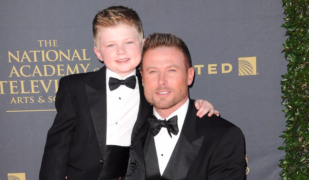 B&B's Jacob-Young (Rick) and son Luke