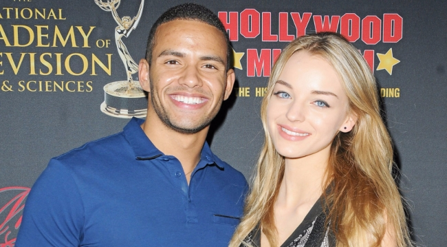 Kyler Pettis and Olivia Keegan, Days' Theo, Claire