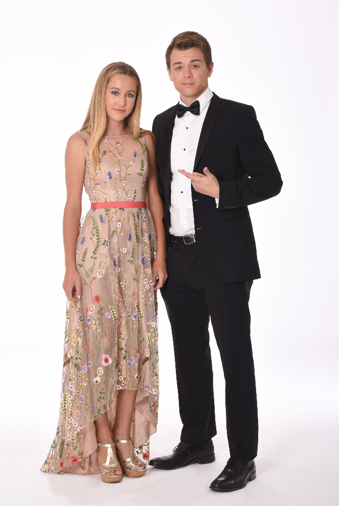 Eden McCoy and Chad-Duell (ABC/Todd Wawrychuk)