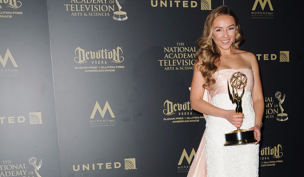 GH's Lexi Ainsworth, Outstanding Younger Actress winner