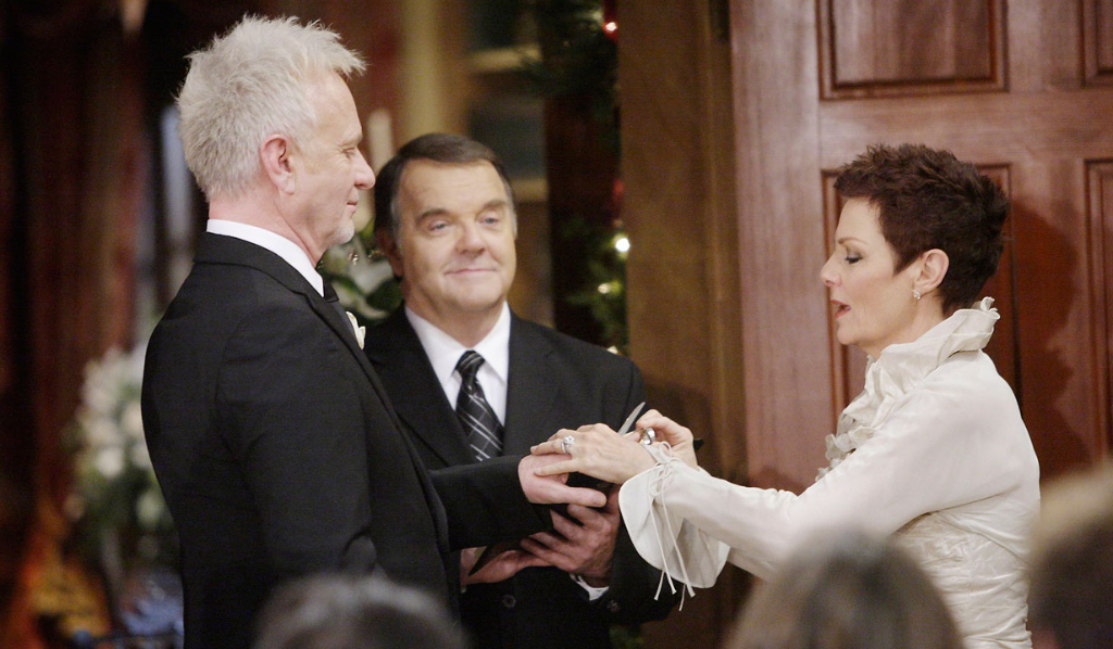 Luke Spencer and Tracy Quartermaine wedding General Hospital