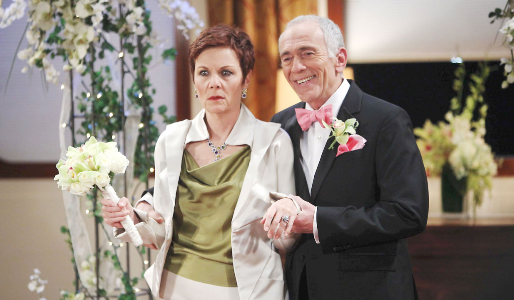 Tracy forced wedding to Anthony Zacchara General Hospital