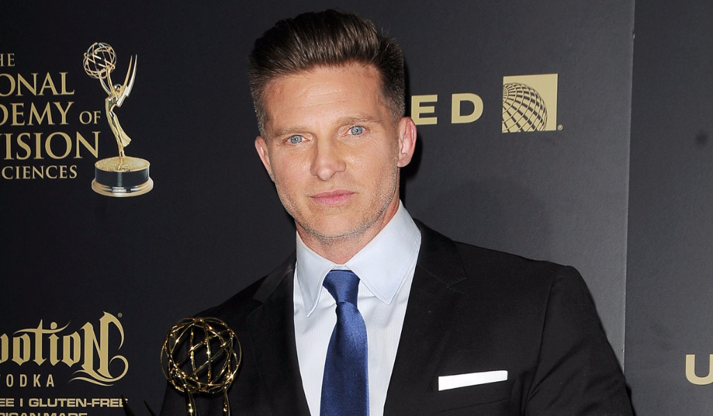 Y&R's Steve Burton, Outstanding Supporting Actor winner