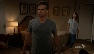 Kevin and Chloe are surprised by Victor-YR-CBS