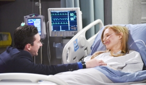 Chad talks to Abby about what happened-Days-JJ