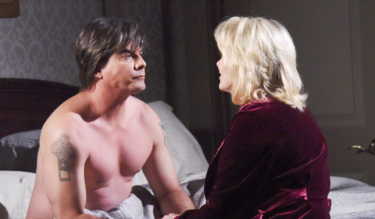 Lucas and Bonnie sleep together Days of our Lives
