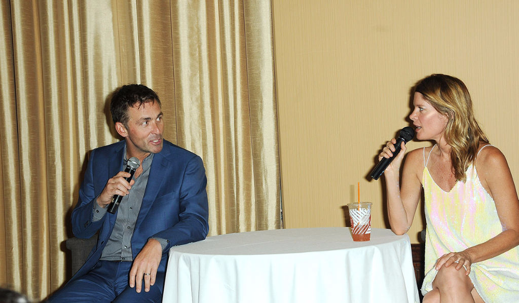 James and Michelle at the GH fan event in 2017